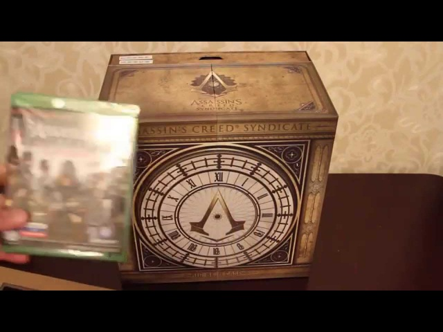 Распаковка Assassin`s Creed Syndicate Big Ben Edition для XBOX ONE