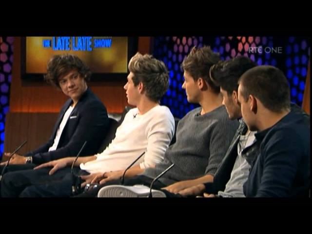 One Direction The Late Late show Legendado PT-BR