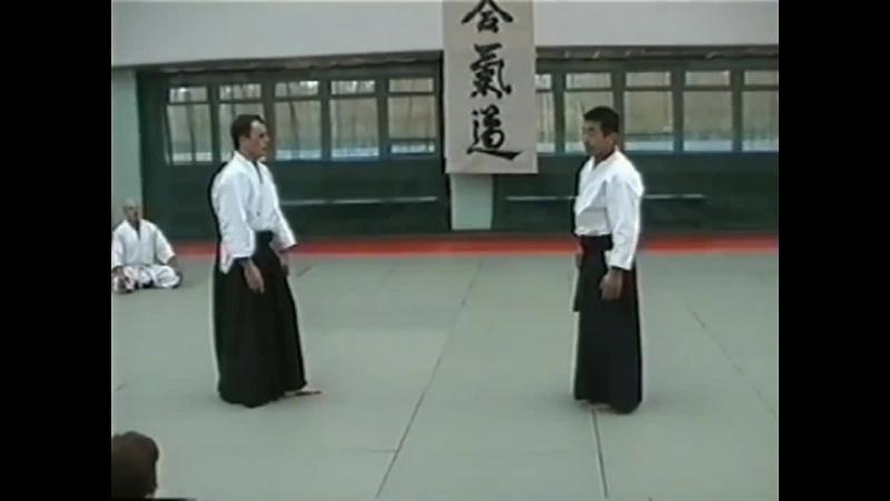 X - lecie Centrum Aikido Aikikai w W - wie - Shihan Shoji Seki 7 dan