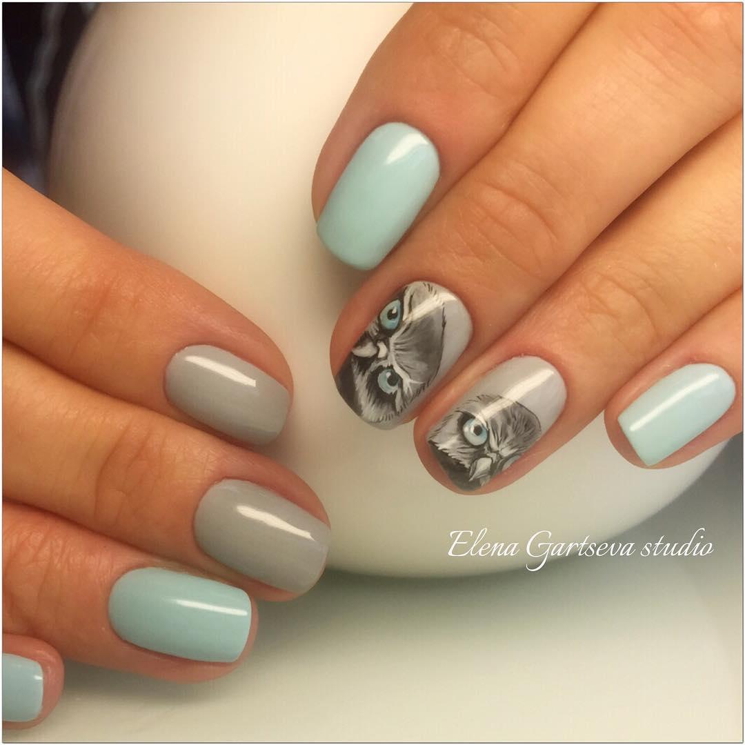 Фото дизайна ногте студии колибри
