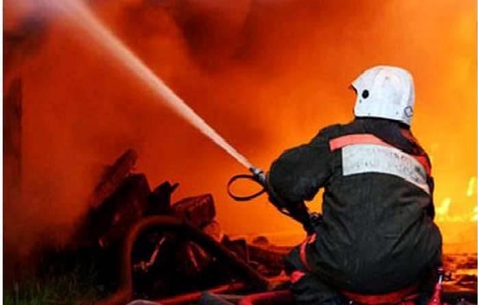 Под Таганрогом сгорел частный жилой дом, есть погибшая