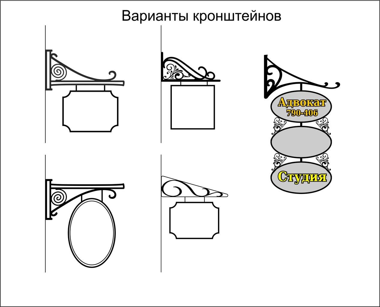 Вывески на объектах культ. наследия