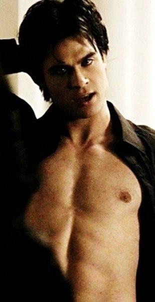 Sexy damon salvatore vampire diaries