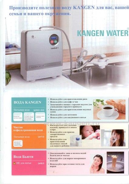 Ионизаторы воды Enagic http://kangen.ru