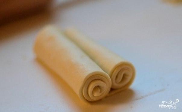 слоеные ушки с сахаром рецепт с фото
