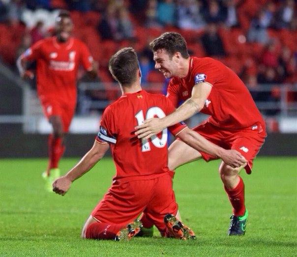 Вчера, наша молодежка U21 победила Лестер Сити со счетом 2:1.