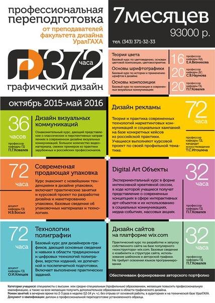 Реклама факультета дизайн