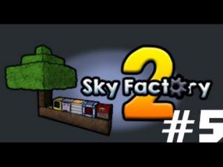 Прохождение Minecraft Sky Factory 2 #5 (Сортировка ресурсов)