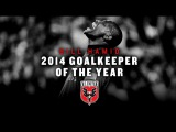 D.C. United Homegrown Bill Hamid named MLS Goalkeeper of the Year