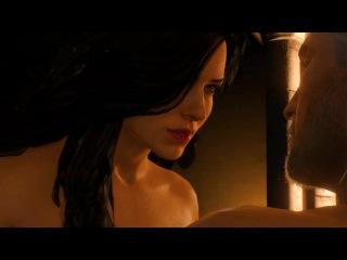 Ведьмак 3. Секс с Йеннифэр в Каэр Морхене в 4K (PC, Rus, 2160p)