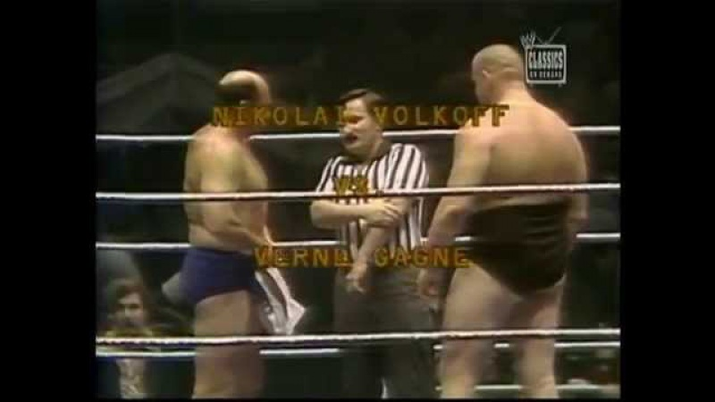 Verne Gagne vs. Nikolai Volkoff (WWWF on MSG Network, 29.08.1977)