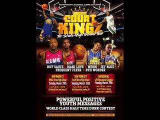 Court Kingz 2015 Top Streetball team makes Global moves Ft. Flowz Dunbar