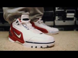 2003 Nike Air Zoom Generation (1st Game) on feet. wdywt womft