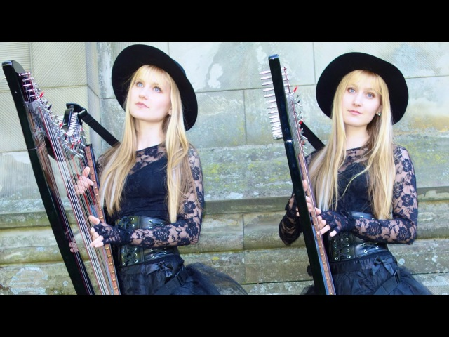 PACHELBELS CANON IN D - Harp Twins - Camille and Kennerly
