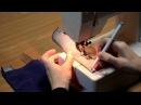 Классическая молния с гульфиком на Sewing.lv