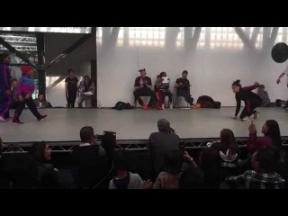 B.Supreme Streetfest 2015 2v2 Semi Finals Eddie & Terra (Soul Mavericks) vs Mighty Legendary Qweenz