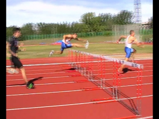 Омск 2015 бег с барьерами