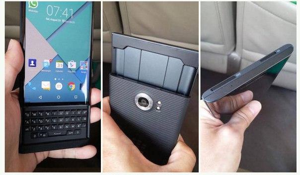 BlackBerry Priv на Android выйдет до конца этого года