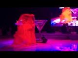 Эквилибр, каучук в Бокале (видео с работы)