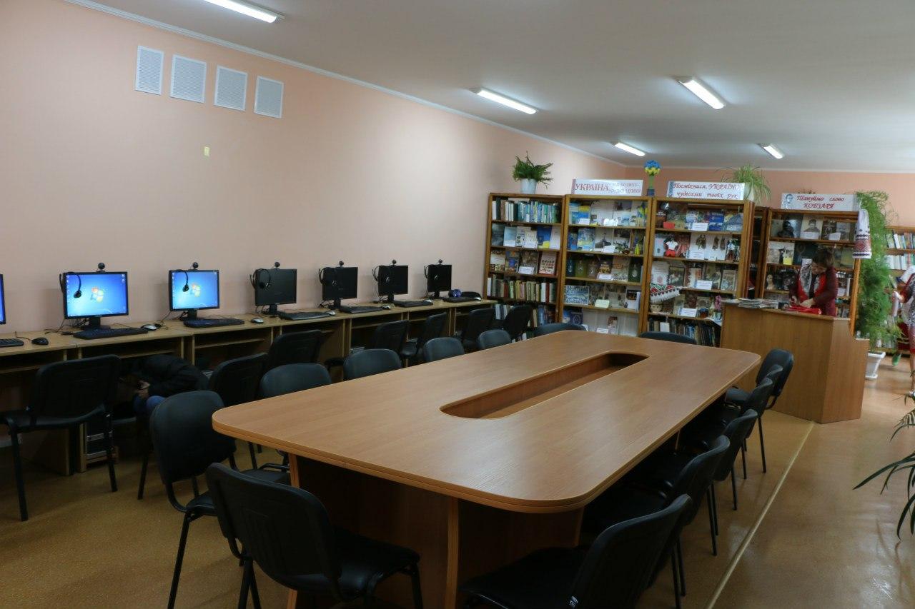 Читальний зал ЦРБ