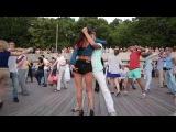 Парк Горького Москва - площадка для танцев сальса