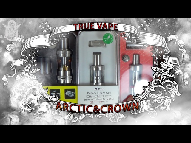 Обзор Crown,Arctic,FuryTank | На вкус и цвет... | from focalecig.com