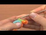 Ленточные кружева Урок 19 часть 1 из 2 Вязание крючком