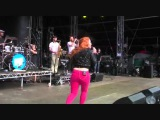 Katy B Katy on a mission live Bestival 2011. Pro shot