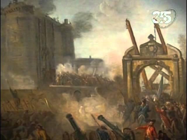 Взятие Бастилии и начало Великой революции.