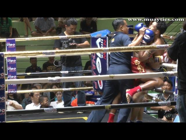 Muay Thai Singdam vs Pakorn New Lumpini Stadium 28th February 2014