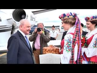 Президент Молдовы прибыл с официальным визитом в Беларусь