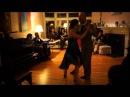Adriana Salgado Orlando Reyes dancing to the tango vals Miedo (Juan D'Arienzo)