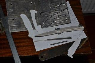 Гарды для ножей своими руками