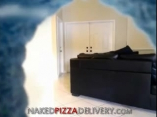 Naked Pizza Delivery On WCam
