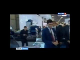 Дмитрий Медведев посетил стенд Липецкого станкостроительного предприятия