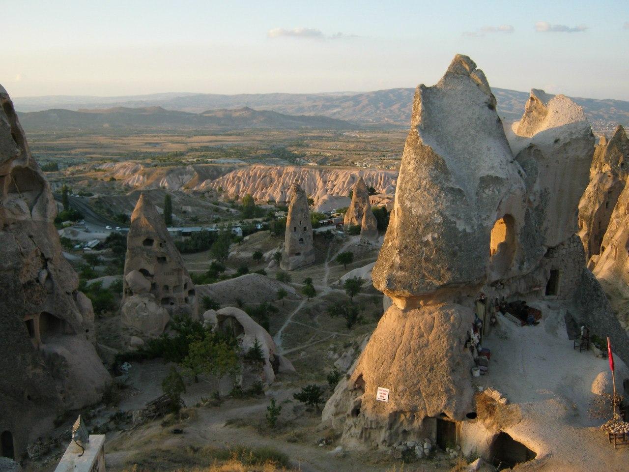Сухой пейзаж Каппадокии