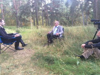 Интервью ТВ Таллин