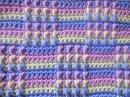 Многоцветный узор Multicolor pattern Crochet