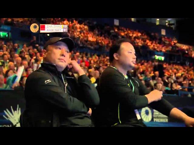 Zhang Nan/Zhao Yunlei vs T. Ahmad/L. Natsir | XD F Match 1 - YONEX All England Open 2015