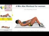 მუცლის კუნთების ვარჯიში ქალებისთვის