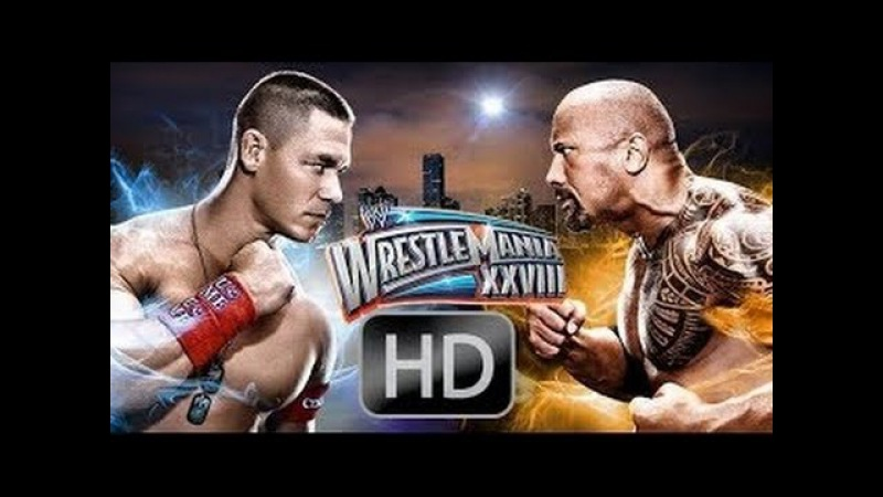 The Rock vs John Cena at WrestleMania 28 - 2012 - Preview