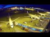 Paris-CdG airport plane ballet (timelapse movie)