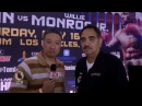 Abel Sanchez Interview at Golovkin-Monroe Presser - UCN Exclusive