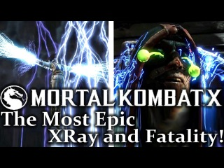 Мортал Комбат Х: Рейден - Самые Эпичные ИксРей и Фаталити в FullHD! Mortal Kombat X: Raiden - The Most Epic XRay! + Fatality in 1080p! MKX Fatality, X-Rays FullHD!