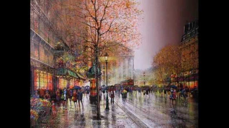 Под небом Парижа аккордеон