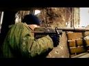 Ополченец ДНР выстрел из ПТРД - Ukraine