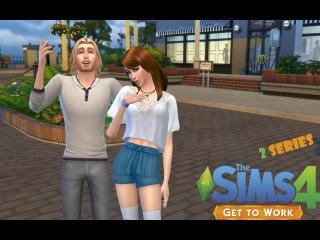 Let's play The sims 4 На работу / #2 Сбежавшие заключенные