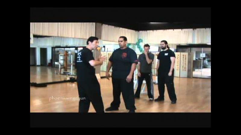 Sifu Samuel Kwok Demonstrates the One Inch Punch