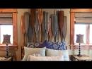 Необычные кровати из древесного массива своими руками