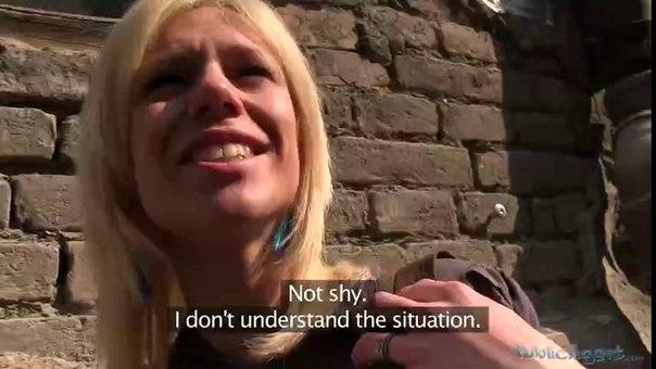 PublicAgent E282 – Blonde Fucks A Stranger In Underground Car Park